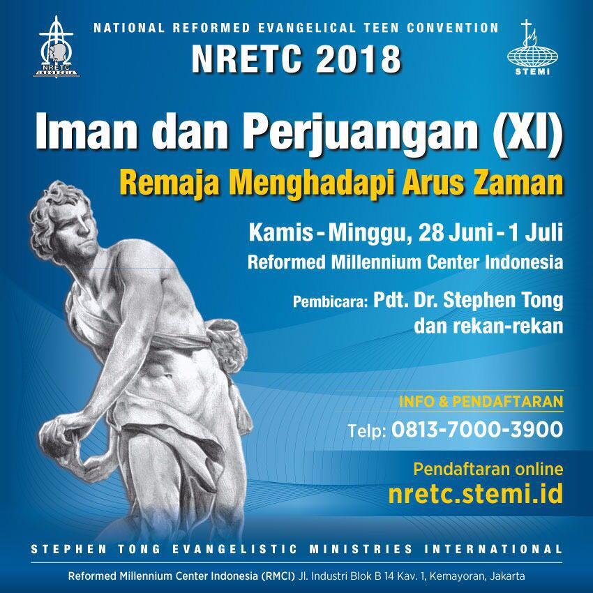 NRETC IX 2018 Remaja Menghadapi Arus Zaman