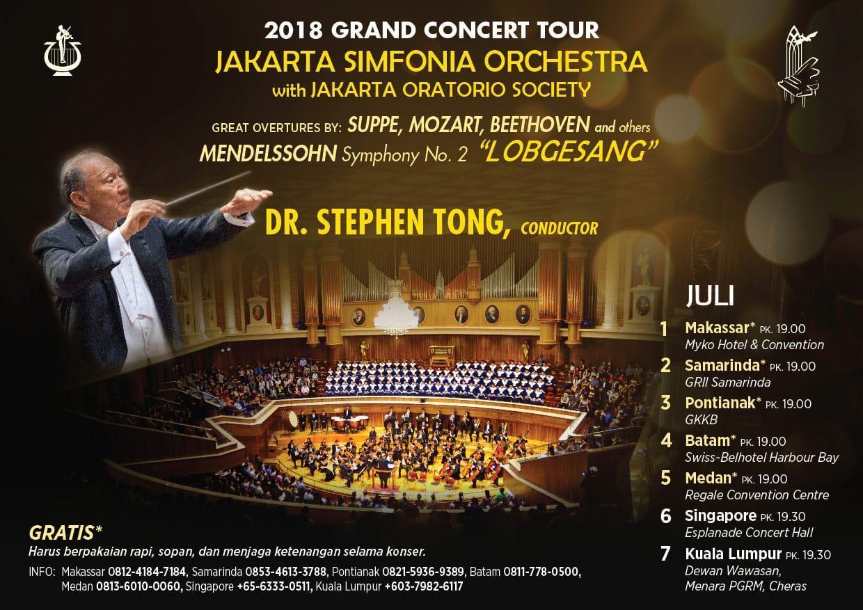 2018 Grand Concert Tour Stephen Tong